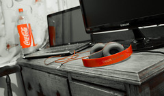 workspace (praneeth87) Tags: desktop cocacola samsungmonitor hplaptop beatsheadphone