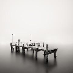 Broken Pier, Rose Bay {Explored February 03, 2012} (Marshall Ward) Tags: sydney wharf catalinas oldwharf manualshutter nikond7000 marshallward leend10 longlonglongexposure forgotmyremote 100240mmf3545rosebay