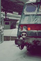 (VoyageDream) Tags: light italy snow trains neve bologna trenitalia treni nikond3000
