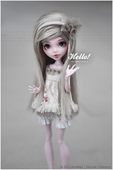 Hello nice to meet you! (***Andreja***) Tags: monster high doll ooak custom repaint andreja draculaura