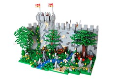Rats In The City (Deviet) Tags: castle lego wolfpack deviet