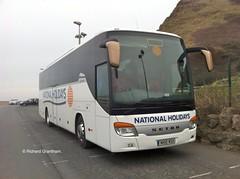 National Holidays Hull NH10NSH. (EYBusman) Tags: road bus drive coach holidays yorkshire albert arnold north royal east national independent wallace wa scarborough hull foreshore wigan setra shearings kassbohrer eybusman 415gt nh10nsh