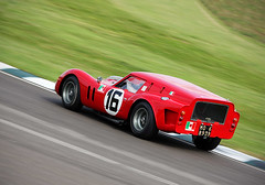 Breadvan (autoidiodyssey) Tags: car race vintage ferrari gt 250 1961 swb breadvan racttcelebration 2819gt 2011goodwoodrevival