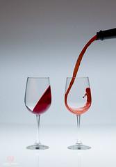 Attraction (Forrest Tanaka) Tags: stilllife glass wine fluid liquid