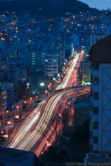 Trails (Bai Lazo) Tags: night republic rooftops traffic korea busan photowalk southkorea pusan      bosydong