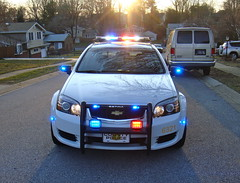 New Castle County PD, Delaware (10-42Adam) Tags: county blue red chevrolet 911 police led chevy delaware emergency department caprice whelen federalsignal newcastlecounty pushbumper nccpd