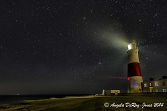 Stars at Portland Bill (angeladj1) Tags: