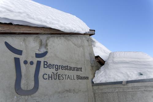 Chüestall Riederalp Winter