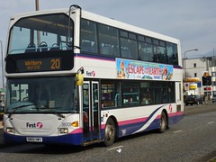 36009 - SN05 HWY (Cammies Transport Photography) Tags: road west bus scotland coach edinburgh glasgow first east end 20 scania a8 whitburn 36009 sn05hwy ominidekka