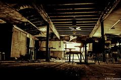 Pierce's Bar [Explored 4-8-14] (Eric Zumstein) Tags: abandoned bar fan closed fuji neglected budweiser pierces x100