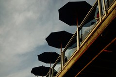 Untitled (ajkpix) Tags: california street urban color losangeles umbrellas scattidistrada