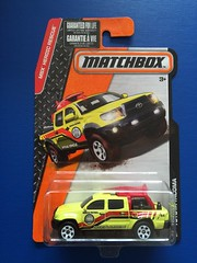 Matchbox MBX Heroic Rescue - Number 75 / 125 - Beach Patrol Official Vehicle - Toyota Tacoma 4x4 - Die Cast Metal Miniature Scale Model Emergency Services Vehicle (firehouse.ie) Tags: cars beach car metal toy toys model die 4x4 models cast toyota tacoma emergency suv mattel patrol matchbox diecast mbxheroicrescue
