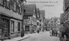 Schwarzwald 1922 (catarina.berg) Tags: street germany deutschland town postcard 1922 sanatorium schwarzwald blackforest tbc oldpostcard freudenstadt
