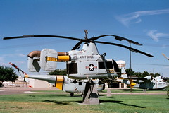 HH-43F Huskie 59-1578 ex USAF. Preserved at Kirtland AFB, Albuquerque, New-Mexico. 01-08-1997. (Aircraft throughout the years) Tags: newmexico albuquerque preserved usaf kaman afb huskie kirtland hh43 hh43f 591578