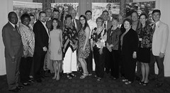 Club members and guests attending the Governor's Banquet on Saturday evening.Photo credits: Angela Jamison