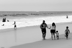 That Human Touch (Wildlife_Biologist) Tags: ocean family sea people blackandwhite bw beach monochrome blackwhite hugging sand holdinghands southerncalifornia humanbeing humans bonding homosapiens humantouch wildlifebiologist jeffahrens