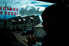 . (krameroneill) Tags: cloud france bus xpro brittany bretagne fujifilm 2016 krameroneill