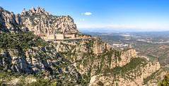 Kloster Montserrat (Peter Seibt) Tags: barcelona montserrat santamaria kloster moreneta benedictinerabtei comarcabages