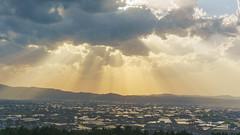 Sunset dyeing distributed Imura (Nobuyuki Ikeda) Tags: sunset sky panorama cloud japan landscape sony  toyama       nanto inami    nex6