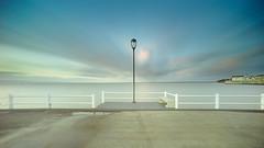 The sentinel (Joo Cruz Santos) Tags: longexposure seascape portugal pier a7 alcochete 10stops sel1018