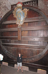 World's largest wine barrel (quinet) Tags: berlin germany 2012 castleroad burgenstrase