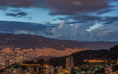 Medellin at night (Magic life gallery) Tags: colombia co medellin antioquia
