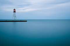 Blue Hour (1572) (five one nine) Tags: longexposure lighthouse ontario lakeerie greatlakes bluehour erieau