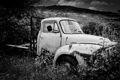 Abandoned (alanrharris53) Tags: old rot broken car truck rust decay discarded wreck