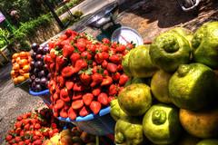 Fruta / Fruit (drlopezfranco) Tags: fruit restaurant strawberry lima guatemala restaurante peach plum fruta granada lime hdr fresa pomegranade durazno hrd ciruela chimaltenango santaapolonia rinconsuizo