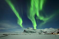 Aurora Borealis (D-Niev) Tags: winter snow ice night stars iceland northernlights auroraborealis