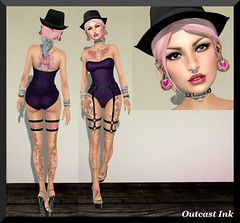 Post #586 (Outcast INK) Tags: mandala uber belleza catwa insufferabledastard purpleposes wowskins realevilindustries kccouture chemicalprincess truthhairapparel thewomenonlyhunt1