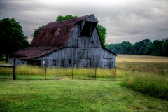 Somewhere (Canon666man) Tags: road grass barn farm tennessee country
