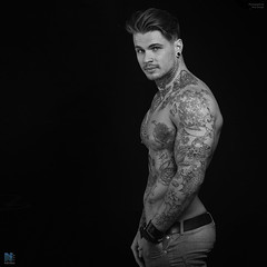 Ricky Davidson NFM (TerryGeorge.) Tags: george athletic model natural models pack terry fitness six toned abs taned