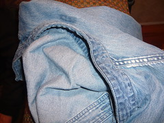 Getting started boro (onetexsun) Tags: project sewing textile denim wearableart workshirt seams rockstarboro