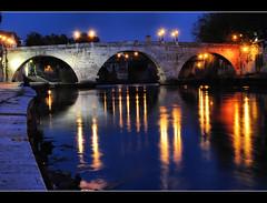 Kisses from Rome (more inside) (Sante sea) Tags: bridge italy rome roma river italia fiume ponte tevere isolatiberina pontecestio