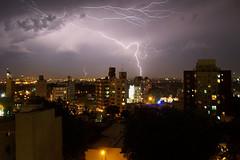 MonteVIdEO lightning (enjoy_letibarzi) Tags: uruguay lluvia ciudad cerro tormenta lightning montevideo rayo leticia leti thunder relmpago barzilai letibarzi