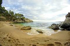 La Cala del Pi (AlexShot Photography) Tags: sea landscape spain 8mm hdr hdri platja daro samyang
