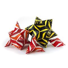 Tigra (_Ekaterina) Tags: red origami modularorigami kusudama unitorigami lukasheva