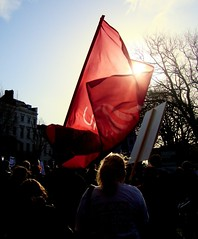 Unite the Union (brightondj) Tags: uk red march brighton flag protest demonstration unite strike unions n30 redflag tradeunions unitetheunion november30thstrike