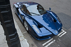 enz0 (Luke Alexander Gilbertson) Tags: blue france london de nikon tour ferrari londres enzo londra rare f28 supercar v12 pozzi tdf 2470 exlusive d700 lukegilbertson