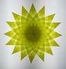 Yellow Window Star