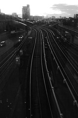 Poplar DLR Rails (Ewan-M) Tags: england london poplar rails docklands dlr e14 docklandslightrailway isleofdogs poplardlrstation londonboroughoftowerhamlets antsbirthdaywalk