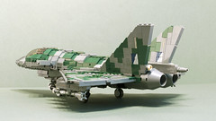 Tempest IDS Mk.II (2) (Aleksander Stein) Tags: fighter lego military air attack jet ground swing eurofighter strike f2 tempest role ids superiority multirole twoengine