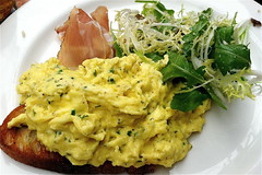 soft scramble at Locanda Verde (galatea00) Tags: eggs brunch scrambled locandaverde