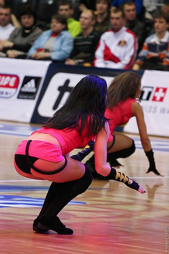 Superleague All-Star Game 2011 Cheerleaders ©  Aleksandr Osipov