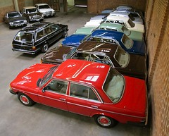 My New Shop! (mercedesmotoring) Tags: auto blue light red brown white black green classic cars shop hub vintage francis mercedes marine 300d garage caps walnut ivory mercedesbenz signal tobacco jg motoring anthracite 250c 560sl 240d 300td 300sd 300tdt mercedesmotoring