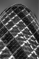 Gherkin texture (Jonathan.Russell) Tags: windows white black london texture glass canon spiral cool unique round unusual gherkin offices 40d