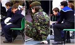 Casualties (* RICHARD M (Over 6 million views)) Tags: street collage candid poppy poppies uniforms cenotaph remembrance southport cadets casualties seacadets sefton armycadets remembrancesunday2011