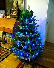 A Very Lovecraft Christmas I (liquidnight) Tags: christmas xmas blue decorations tree green home oregon silver portland toy lights holidays garland plush cthulhu lovecraft pdx decor hplovecraft tentacles ovo archiemcphee eldritch tentacular cthulhufhtagn cthulhumas phngluimglwnafhcthulhurlyehwgahnaglfhtagn liquidnight