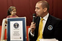 Photo By Manish Swarup...Jyoti  Amge the smallest woman in the world (Kingkongphoto & www.celebrity-photos.com) Tags: woman india cute girl little dwarf famous guinness short record worldrecord littleperson childlike
